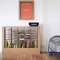 muebles reciclados de carton 25