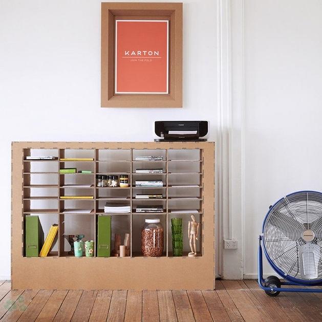 Muebles reciclados de carton 25 - Carton para muebles ...