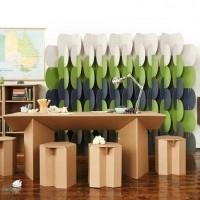 muebles reciclados de carton 26