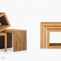 muebles reciclados de carton 3
