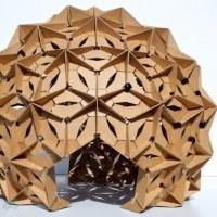 muebles reciclados de carton 31