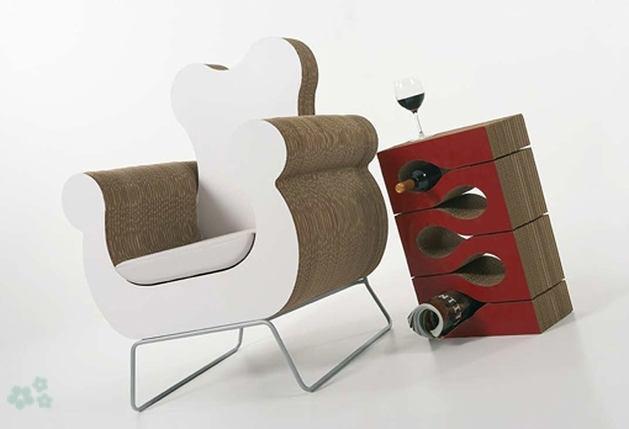 Muebles reciclados de carton 5 - Muebles de carton ...
