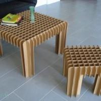 muebles reciclados de carton 6