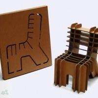 muebles reciclados de carton 7
