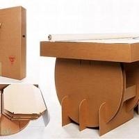 muebles reciclados de carton 8