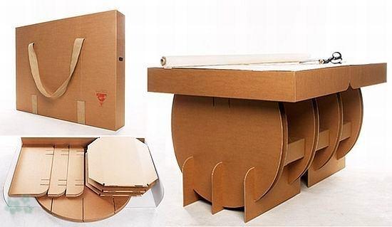 Muebles reciclados de carton 8 - Muebles de carton ...