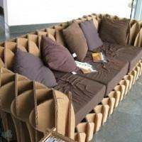 muebles reciclados de carton 9