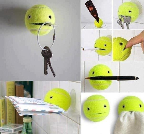 reciclar las pelotas de tenis