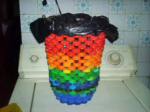 Reciclar tapones plastico 3 - Como hacer tapas faciles ...