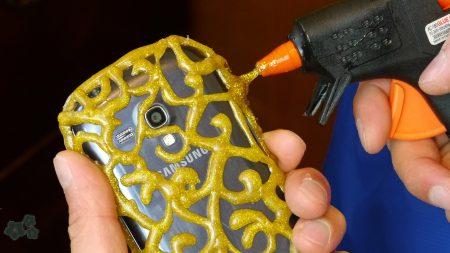 Funda casera para móvil